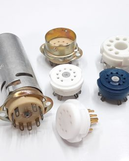 9-PIN Tube Sockets